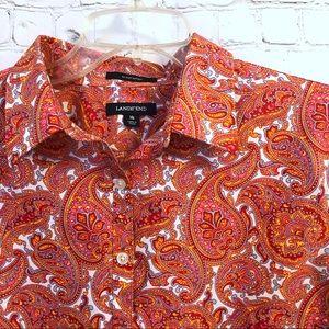 Lands' End Tops - Lands' End No Iron Supima Cotton shirt